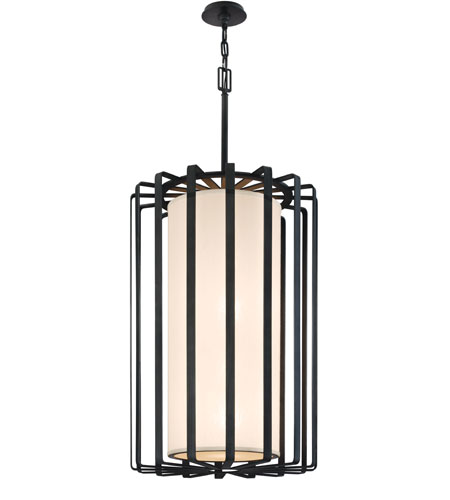 Troy Lighting Drum 4 Light Pendant in Bronze F2815BZ-I photo