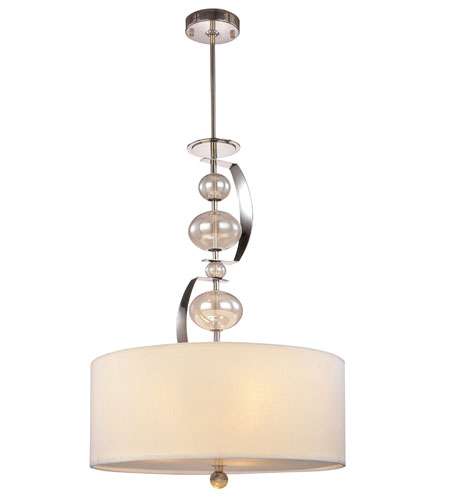 Troy Lighting Fizz 3 Light Pendant in Polished Nickel F2866PN photo