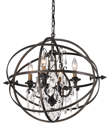 Troy Lighting F2995 Byron 4 Light 20 inch Vintage Bronze Pendant Ceiling Light photo