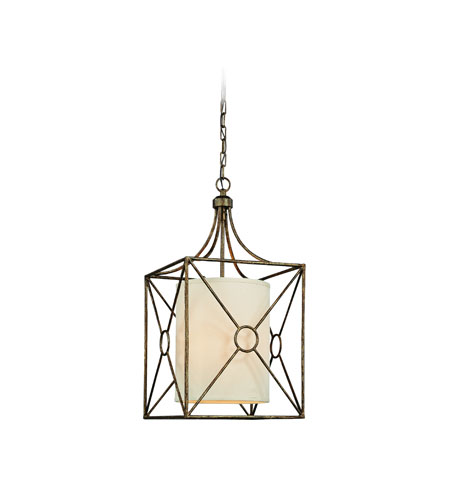 Troy Lighting Maidstone 3 Light Pendant in Bronze Leaf F3013BLF photo