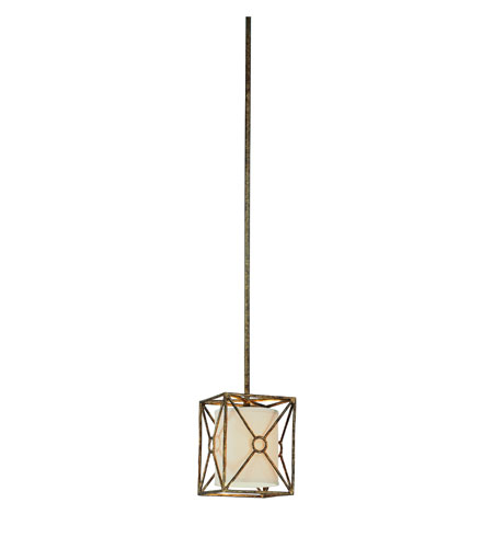 Troy Lighting F3017BLF Maidstone 1 Light 7 inch Bronze Leaf Mini Pendant Ceiling Light in Incandescent photo