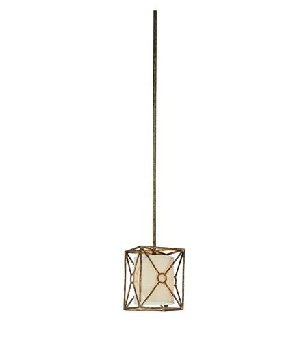 Maidstone 1 Light 7 Inch Bronze Leaf Mini Pendant Ceiling In Incandescent