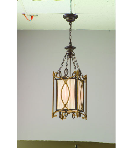 Troy Biltmore 3Lt Entry Chandelier Ceiling Mount Hanging In Biltmore Finish F3023BLT photo