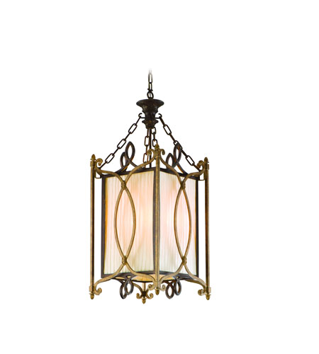 Troy Biltmore 4Lt Entry Chandelier Ceiling Mount Hanging In Biltmore Finish F3024BLT photo