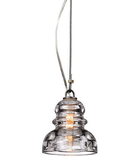 Troy Lighting F3132 Menlo Park 1 Light 6 inch Old Silver Pendant Ceiling Light  photo