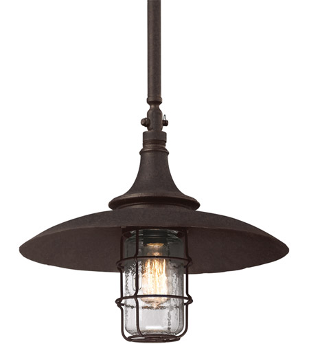 Troy Lighting F3229 Allegany 1 Light 16 inch Centennial Rust Outdoor Hanging Lantern photo