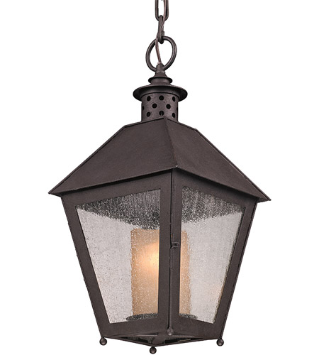 Troy Lighting F3297 Sagamore 1 Light 10 inch Centennial Rust Outdoor Hanging Lantern in Incandescent photo