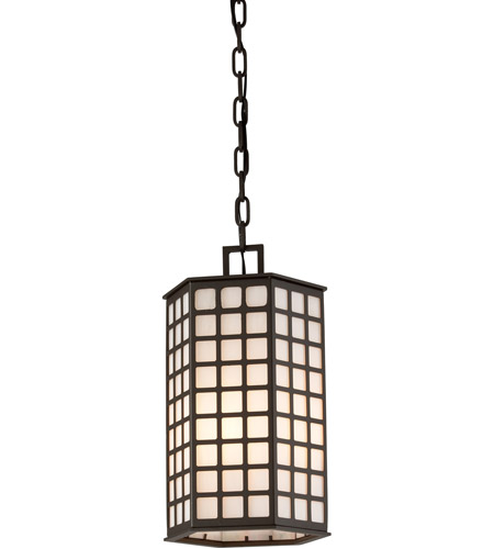 Troy Lighting Cameron 3 Light Outdoor Hanger in Bronze with Coastal Finish F3417-C photo