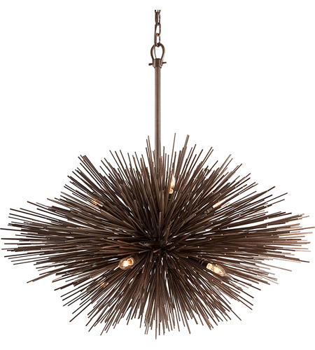 Troy Lighting F3668-220 Uni 8 Light 40 inch Tidepool Bronze Pendant Ceiling Light, Large photo