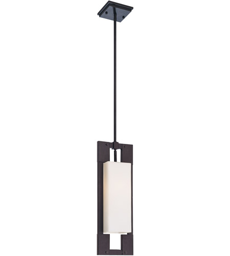 Troy Lighting Blade 1 Light Outdoor Pendant in Forged Iron F4019FI photo