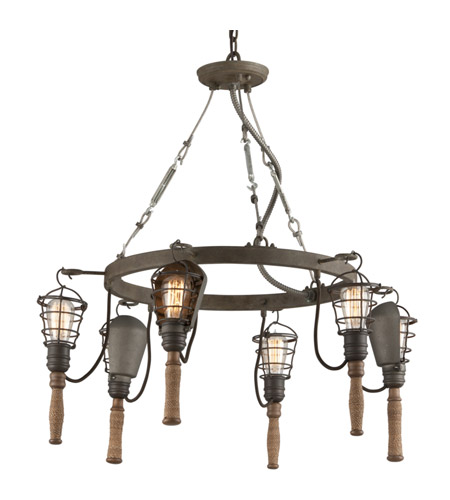 Troy Lighting F4175 Yardhouse 6 Light 32 inch Pendant Ceiling Light photo