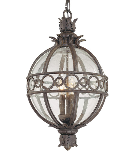 Troy Lighting F5009CB Campanile 4 Light 17 inch Campanile Bronze Outdoor Hanging Lantern photo