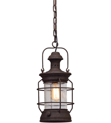 Troy Lighting F5057 Atkins 1 Light 8 inch Centennial Rust Outdoor Pendant photo