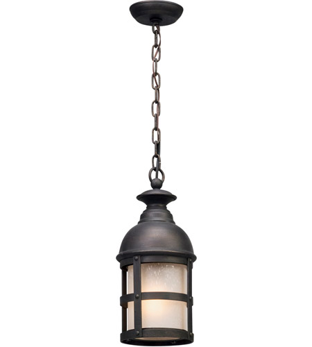 Troy Lighting Vintage Iron Outdoor Pendants