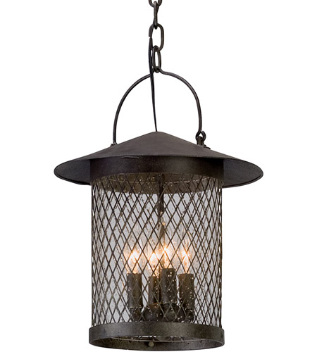 Troy Lighting F5177 Altamont 4 Light 12 inch French Iron Outdoor Pendant photo