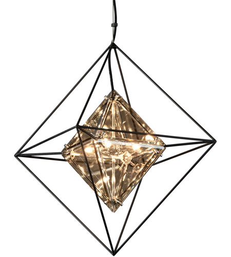 Troy Lighting F5325 Epic 4 Light 18 inch Forged Iron Pendant Ceiling Light photo