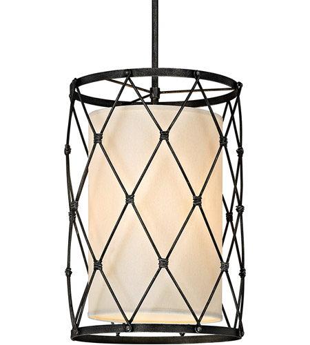 Troy lighting f5944 palisade 4 light 18 inch aged pewter pendant troy lighting f5944 palisade 4 light 18 inch aged pewter pendant ceiling light linen hardback shade aloadofball Gallery