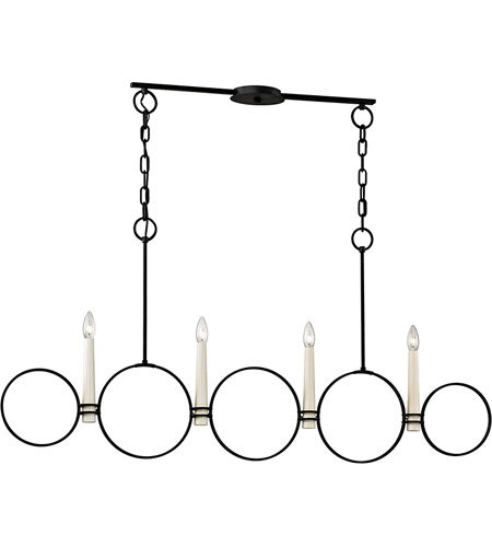 Troy Lighting F5954 Juliette 4 Light 52 inch Country Iron Chandelier Ceiling Light photo thumbnail