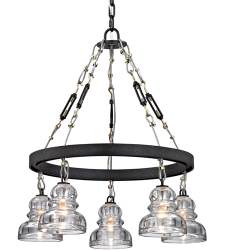 troy lighting f6055 menlo park 5 light 26 inch deep bronze