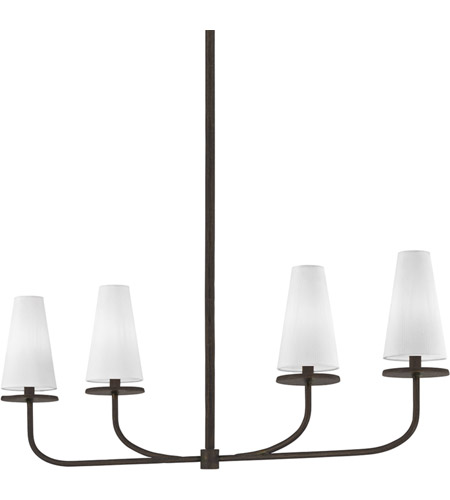 Troy Lighting F6299 Marcel 4 Light 43 inch Pompeii Bronze Linear Pendant Ceiling Light photo