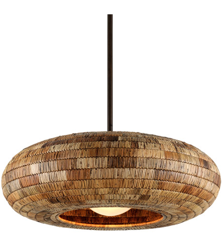 Troy Lighting F6735 Breuer 1 Light 40 inch Bronze Pendant Ceiling Light photo