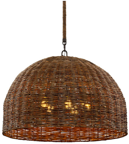 Troy Lighting F6905 Huxley LED 34 inch Tidepool Bronze Pendant Ceiling Light photo