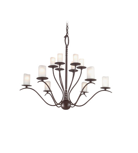 Troy Lighting Avalon 12 Light Chandelier in Old Rust F9212OR photo