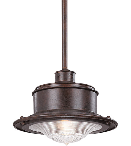 Troy Lighting F9395OR South Street 1 Light 10 inch Old Rust Outdoor Hanging Downlight photo