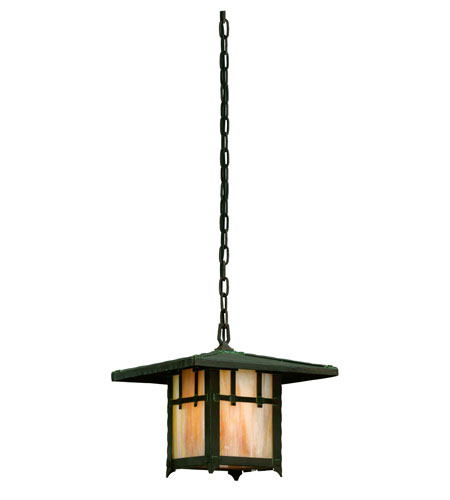 Troy Lighting Oak Knoll 1 Light Outdoor Hanging Lantern in Natural Bronze F9408NB photo