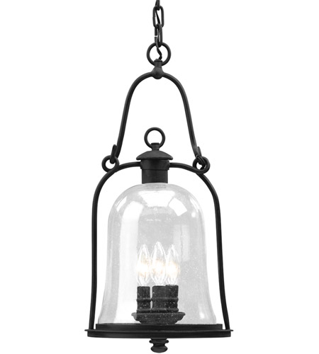Troy Lighting F9467NB Owings Mill 3 Light 10 inch Natural Bronze Outdoor Hanging Lantern photo