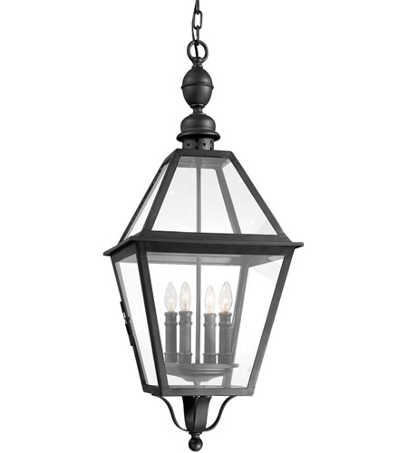 Troy Lighting Townsend 4 Light Outdoor Hanging Lantern in Natural Bronze F9628NB photo