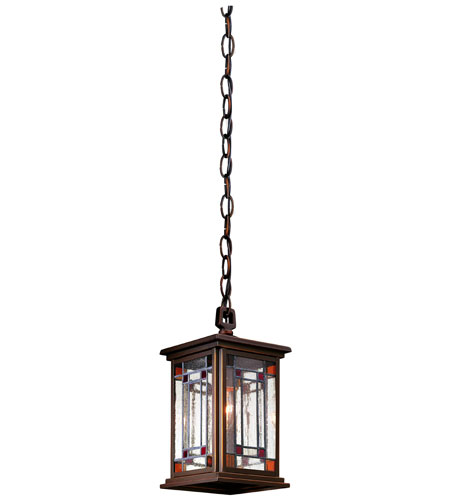 Troy Lighting Brookfield 1 Light Outdoor Hanging Lantern in Oil Rubbed Bronze FAR6903OB photo