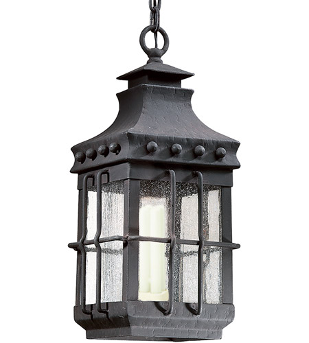 Troy Lighting FCD8973NB Dover 1 Light 9 inch Natural Bronze Outdoor Hanging Lantern photo