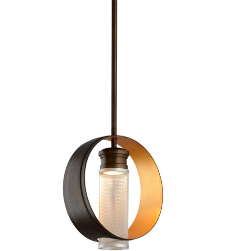 Troy Lighting FL4896 Insight LED 12 inch Modern Bronze Pendant Ceiling Light photo