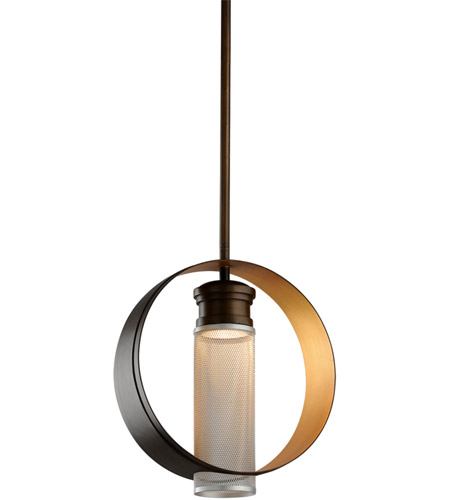Troy Lighting FL4897 Insight LED 16 inch Modern Bronze Pendant Ceiling Light photo