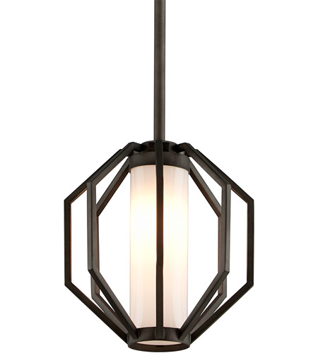 Troy Lighting FL4987 Boundary LED 11 inch Textured Graphite Outdoor Pendant photo