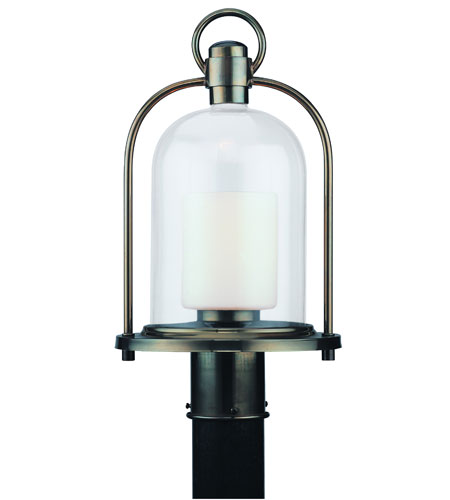 Troy Lighting Chatham 1 Light Outdoor Post Lantern in Heritage Bronze P2025HB photo