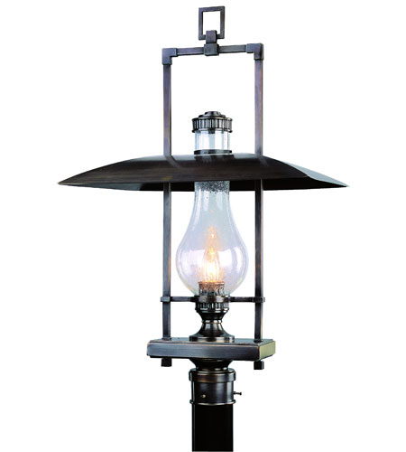 Troy Lighting Dakota 1 Light Outdoor Post Lantern in English Bronze P3074EB photo