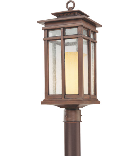 Troy Lighting Cottage Grove 1 Light Post Lantern In