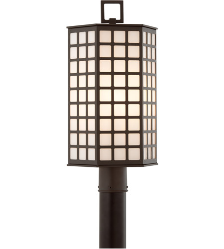 Troy Lighting Cameron 3 Light Post in Bronze with Coastal Finish P3415-C photo