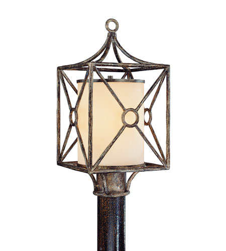 Troy Lighting Maidstone 1 Light Outdoor Post Lantern in Bronze Leaf P5027BLF photo