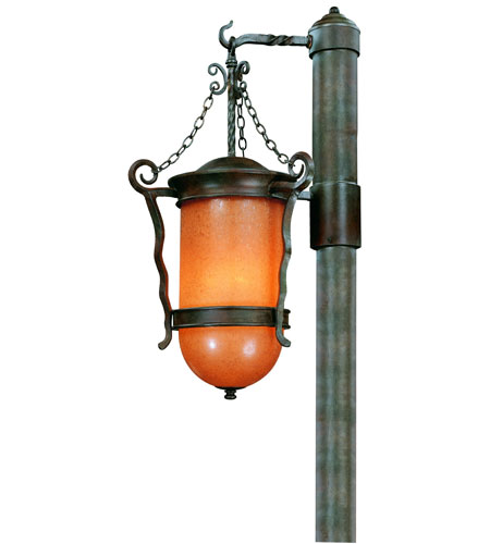 Troy Lighting San Marcos 3 Light Outdoor Post Lantern in Statuary Bronze P9855SBZ photo