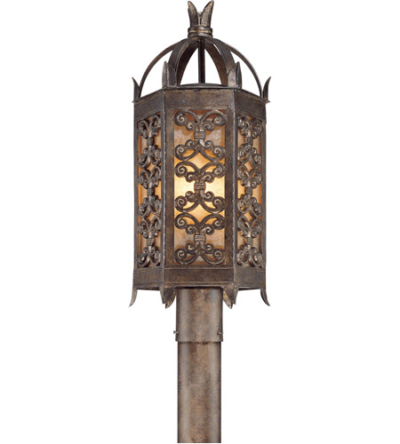 Troy Lighting Gables 3 Light Post Lantern in Charred Gold P9905CG photo