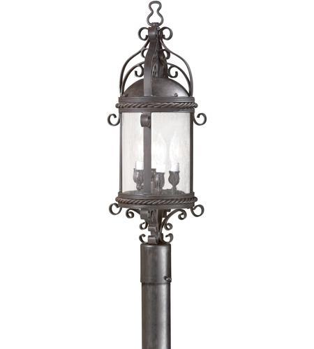 Troy Lighting Pamplona 4 Light Post Lantern in Old Bronze PCD9123OBZ photo