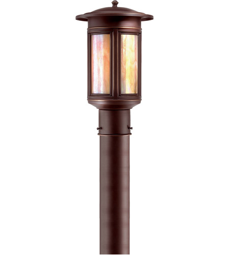 Troy Lighting Highland Park 1 Light Post Lantern in Oil Rubbed Bronze PIH6911OB photo