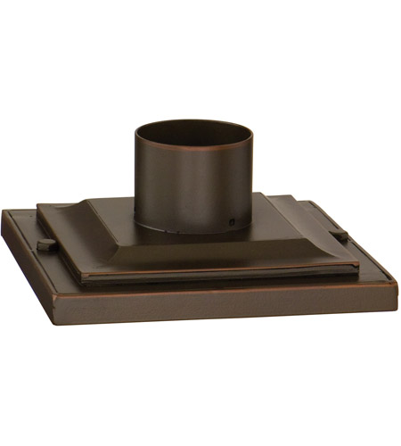 Troy Lighting PM4941ANB Square Pier Mount 9 inch Ancient Bronze Post Accessory photo