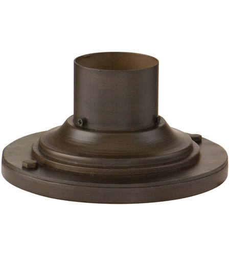 Troy Lighting PM4942CB Disk Pier Mount 4 inch Cottage Bronze Post Accessory photo