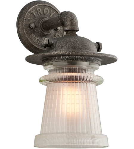 Troy Lighting B4352 Pearl Street 1 Light 14 inch Charred Zinc Outdoor Wall Sconce photo