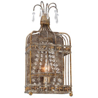 Troy Lighting B4541 Amelie 1 Light 8 inch Provence Rust with Gold Wall Sconce Wall Light photo thumbnail