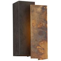 Troy Lighting Archetype LED Outdoor Wall Sconce in Historic Brass BL4651